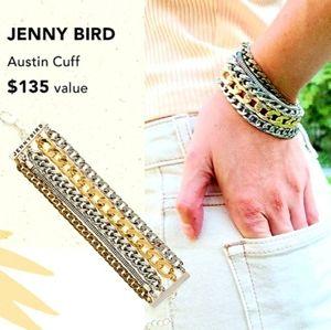 NEW Jenny Bird Austin Cuff Stacked Braclet